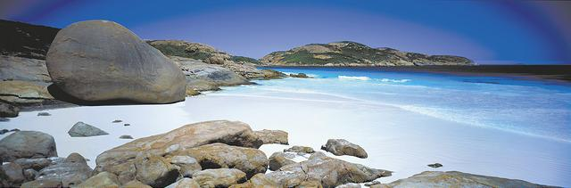 eVisitor Australie Lucky Bay